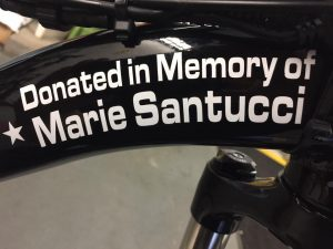 In memory of Marie Santucci